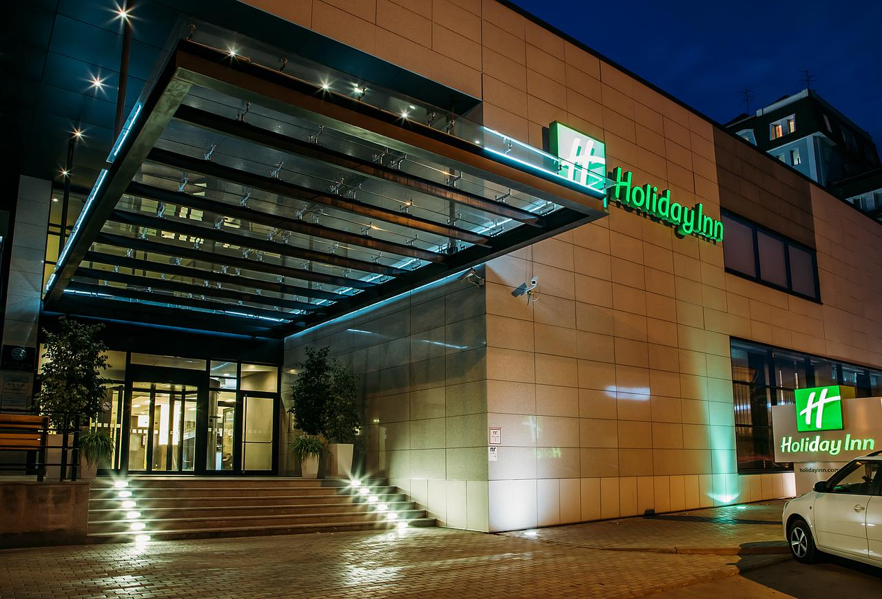 Проведения семинара в конференц-зале отеля «HOLIDAY INN»